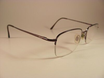 2b39977f28 Ralph Lauren Polo 1001 Metallic Copper Half-Rim RX Eyeglass Frames 53-19-