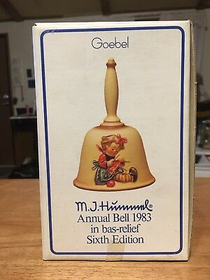 Vintage Hummel Annual Bell In Box- 1983 Sixth Edition