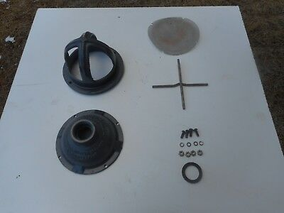"""Used !!! Pond Or Mining 1 """" Hose Thread Water Suction Strainer Inlet Housing"""