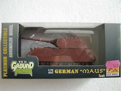 "EASY Model Ground Armor  WWII  36203  German Tank ""MAUS"" 1:72"
