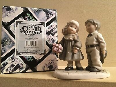 Figurine Pretty As A Picture Anderson Sunday Child is Truly Special In Every Way