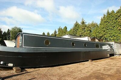 New widebeam build slots near London available this year, house boat liveaboard