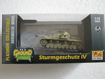 EASY Model Ground Armor  WWII 36134  German Tank Sturmgeschütz IV 1:72 Autumn 44