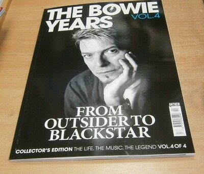 The Bowie Years magazine Volume 4 Collector's Edition: Outsider to Blackstar