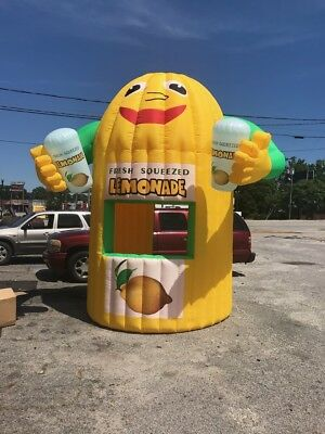 COMPLETE  Inflatable Lemonade Concession Stand Event Drink Tent Booth