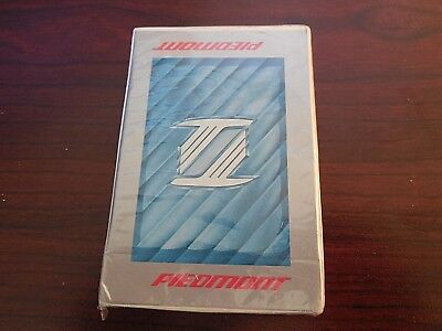 Vintage 1970's Deck of Playing Cards PIEDMONT AIRLINES/SEALED/Free Shipping