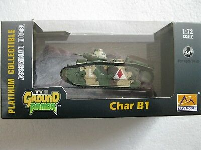 EASY Model Ground Armor   36159 Char B1 May 1940 France 3nd company   1:72