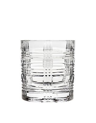 Godinger Silver Art Brookfield Crystal Collection Double Old Fashioned Glasse...