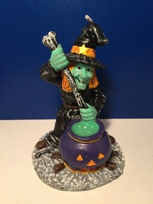 Vintage GURLEY?  HALLOWEEN CANDLE - WITCHES BREW - Witch Pumpkin Cauldron