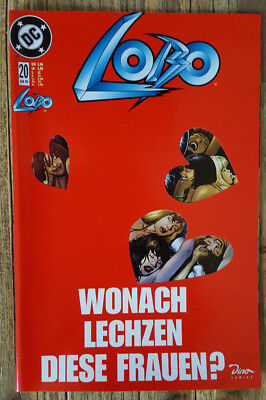 Lobo Band 20, Variant Cover - Edition 1, ( rotes Cover ), Dino Verlag 1999