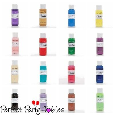 Docraft Artiste craft acrylic paint 59ml Bottles ONLY £2.95 P&P ON ANY QUANTITY