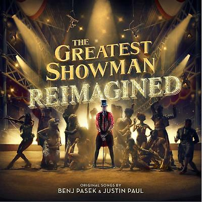 The Greatest Showman REIMAGINED CD with 3 Bonus tracks edition.  AS SEEN ON TV