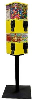 U Turn Vending Machine Terminator 8 Head  -  Quarter Vending- Candy Snack Bulk