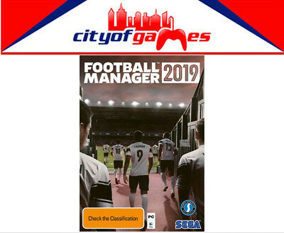 Football Manager 2019 PC Brand New & Sealed In Stock