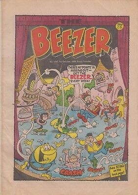 Comic. The Beezer No. 1707