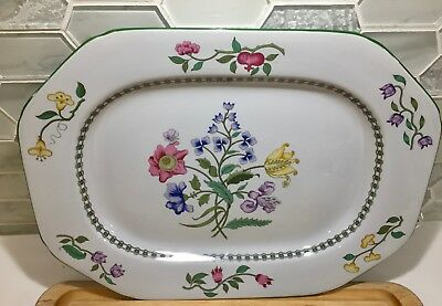 Spode Summer Palace Serving Platter 14 1/4 by 10 1/2 Inch