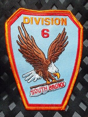 FDNY SOUTH BRONX Engine 71 Ladder 55 Division 6 Fire Chief? Patch