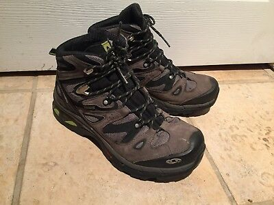 separation shoes cb4d1 3cbb9 MEN'S SALOMON COMET 3D GTX Mid Gore-Tex Waterproof Hiking Boots Size US 8.5