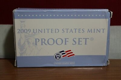 WITH COA PAPERS MINT SEALED IN MINT HOLDERS 2009 18-COIN PROOF SET DAY-02843
