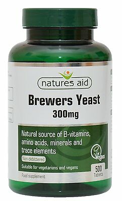Natures Aid - Brewers Yeast 300mg - 500 Tablets - natural source of B vitamins