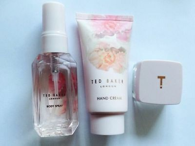 Brand New Ted Baker 3pcs Set And Cosmetic Bag