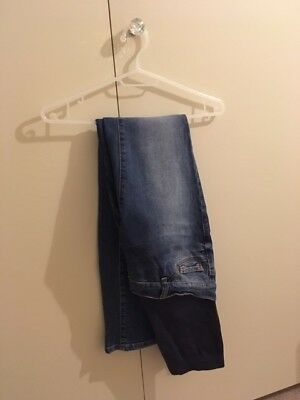 Seraphine maternity over the bump jeans size 8