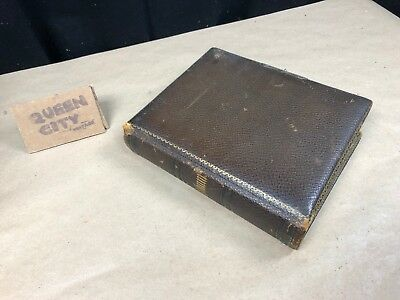 turn of the century photo album victorian photos/tin type/carte de visite 1880s