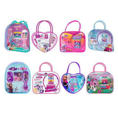 Disney Hair Accessories Girls Ideal Gift Set In PVC Bag Various To Choose From