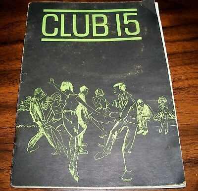 RARE COCA COLA Publication, Advertisement CLUB 15 Activity and Fitness Booklet