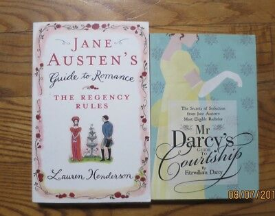 LOT 2 Jane Austen's Guide to Romance-Lauren Henderson,MrDarcy's Guide-to Courtsh