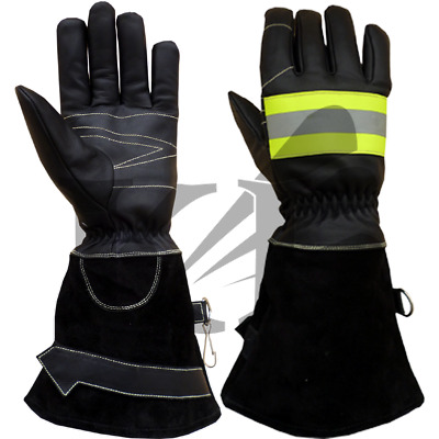 Fire Fighter Gloves Rescue Gloves Protective Gloves
