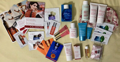 lot produits Clarins neufs (dont UV+ anti pollution taille normale)