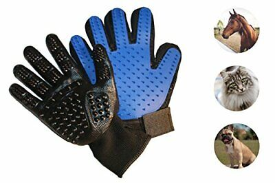 FURRY PAL Grooming & Bath Gloves Kit for Dogs Cats Horses Pets
