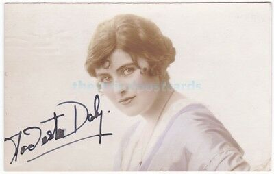 Stage actress Modesta Daly. Signed postcard