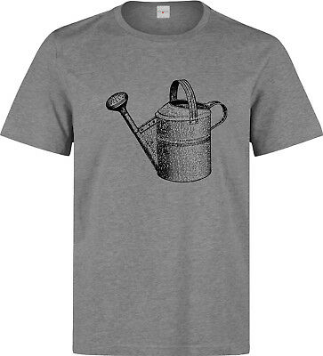 Water Can Vintage Gardening Tool Art Men's (woman's available) grey t shirt