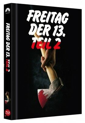 Freitag der 13. - Teil 2 - Limited Collectors Edition Mediabook - Cover B [Blu-r