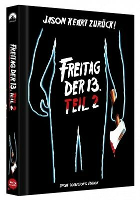 Freitag der 13. - Teil 2 - Limited Collectors Edition Mediabook - Cover C [Blu-r