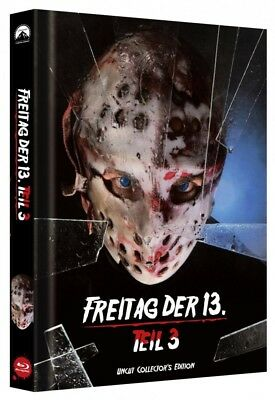 Freitag der 13. - Teil 3 - Limited Collectors Edition Mediabook - Cover C [Blu-r