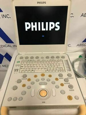 Philips CX50 Portable Ultrasound Machine with C5-1 Ultrasound Probe Transducer