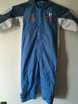 Boys All In One Waterproof Suit Age 18-24 Months