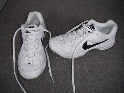 Nike Court Lite white tennis trainers, size 6, worn a couple of times