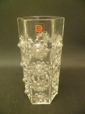 Dartington FT95 Nipple Vase 15cm tall Vintage Retro Frank Thrower original label