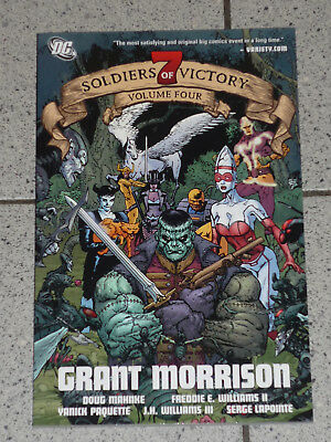 SEVEN SOLDIERS OF VICTORY Vol. 4 / Grant Morrison / US-TPB / DC 7