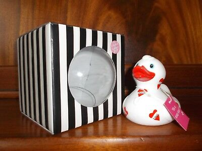 BUD Collectable Rubber Duck for Cancer Research SOAPSTAR by Lulu Guinness (2007)