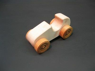 H303-1 Maple Race Car, Wood Toy Car, Wooden Toy Car, Handmade, Handcrafted