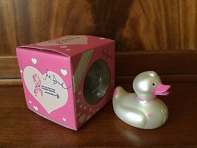 BUD Collectable Rubber Duck for Cancer Research by Judi Dench (2009) retired