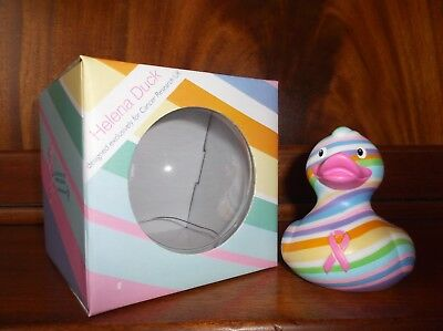 BUD Collectable Rubber Duck for Cancer Research HELENA (2011) discontinued
