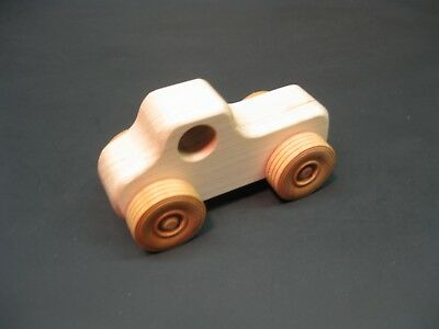 H313-1 Maple Pickup Truck, Wood Toy Car, Wood Toy Truck, Handmade, Handcrafted