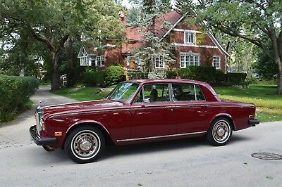 1980 Rolls-Royce Silver Shadow II A stunning, original presentation in rare colour from America's best in RR & Bs.