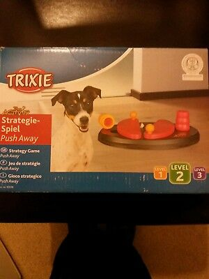 Strategy Push Away Game for Dogs